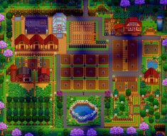 Farm based mostly from another user's (u/BlueCasters, thanks friend!) farm because I'm the most lame. How do improve? Stardew Farms, Stardew Valley Farms, Stardew Valley Layout, Stardew Valley Tips, Minecraft Farm, Community Show, Farm Layout, Thankful For Friends, Harvest Moon
