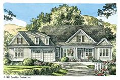 The Clairemont (HWBDO07676) | Craftsman House Plan from BuilderHousePlans.com