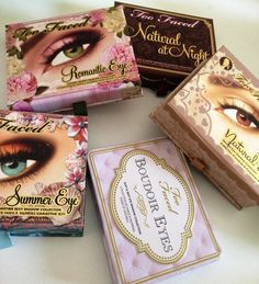 Collection Confections and Summer Swatches: Too Faced Palettes |