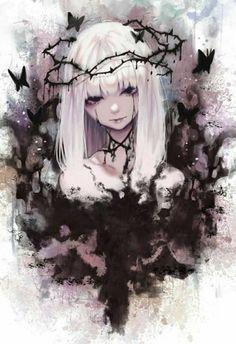67 Ideas for anime art angel manga girl Anime Neko, Kawaii Anime Girl, Manga Anime, Dark Anime Girl, Cool Anime Girl, Manga Girl, Anime Art Girl, Anime Girls, Gothic Anime