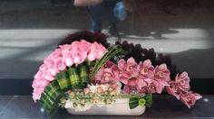 Shared with Dropbox Centerpiece Decorations, Floral Centerpieces, Flower Decorations, Deco Floral, Arte Floral, Floral Design, Pink Flower Arrangements, Vase Arrangements, Church Flowers