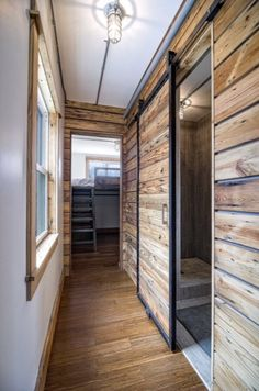 This is the Freedom shipping container tiny house. Its built by Minimalist Homes in Michigan. Thank you Beautiful Freedom Shipping Container Tiny House with Rooftop Deck by Minimalist Homes Images Minimalist Container Home Designs, Container House Plans, Building A Container Home, Tiny House Listings, Tiny House Plans, Tiny House On Wheels, Tiny Home Floor Plans, Tiny House Bathroom, Master Bathroom