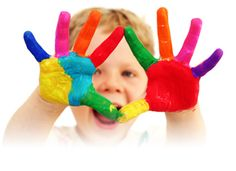 Arts and crafts activities for toddlers are a great way for your baby to explore the world, because child development is based on learning through experience. We Are The World, Finger Painting, Child Life, Business For Kids, Business School, Business Events, Business News, Business Logo, Online Business