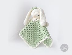Instant download - --- This listing is only a PDF PATTERN, not a finished product ---  This adorable Bunny lovey is a plush toy and security blanket all in one! Lovely Bunny will become a good friend for your baby. The pattern is very easy to follow and suitable for beginners. It contains detailed text instructions, photos and symbol charts. Written in American English crochet terms.  DISCOUNT CODES: -15% for 3 and more patterns use code SAVE15 -20% for 5 and more patterns use code SAVE20…