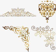 Gold corner pattern, Golden, Corner, Vine PNG and Vector Page Borders Design, Border Design, Flower Background Design, Lace Invitations, Dslr Background Images, Borders And Frames, Islamic Art Calligraphy, Gold Labels, Gold Pattern
