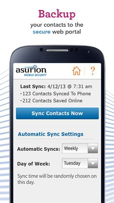 Sync your cell phone data with Asurion - Your Technology Protection Company. #ad #BecauseCrazyHappens