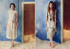 LOVE THESE LOOKS!Spanish label Hoss Intropia.Season after season, the collections have epitomized incredible romance and femininity. It's no wonder that the designer behind it all,Paloma Vázquez de Castro, was a former costume designer for the National Ballet of Spain.