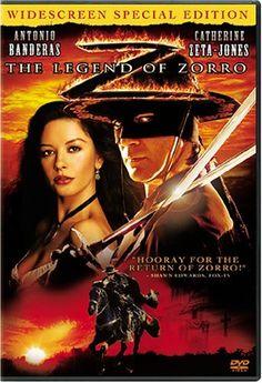 "Antonio Banderas. ""The Legend of Zorro"" 2005.."