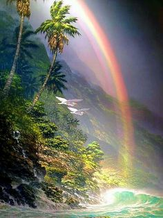Rainbow Magic, Love Rainbow, Over The Rainbow, Nature Pictures, Cool Pictures, Beautiful Pictures, Mother Earth, Mother Nature, Beautiful World