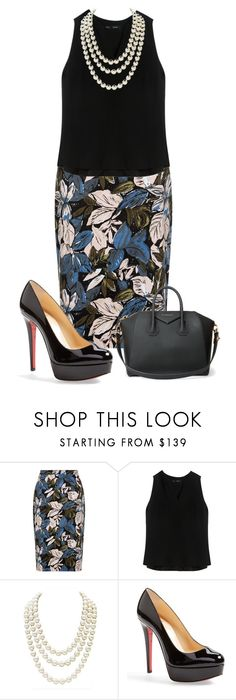 """""""S14"""" by may-nimo on Polyvore featuring Proenza Schouler, Chanel, Christian Louboutin and Givenchy"""