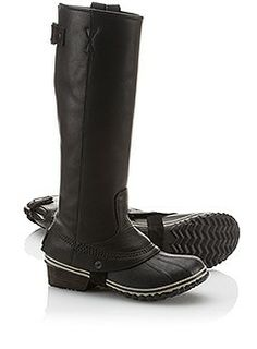 Sorel's Women's Slimpack Riding Tall Boot is a waterproof, micro-fleece lined PAC boot with stacked leather heel. Perfect footwear for all seasons at SOREL. Tall Riding Boots, Tall Boots, Snow Boots, Winter Boots, Sorel Boots, Ugg Boots, Fashion Shoes, Fashion Accessories, Teen Fashion