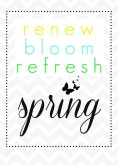 She's crafty: spring printable