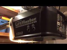Chamberlain Garage Door Opener, Garage Door Opener Installation, Liftmaster Garage Door, Garage Door Replacement, Drip Coffee Maker, Garage Doors, Youtube, Life Hacks, Gadgets