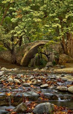 Tzelefos Bridge ~ Troodos Mountains, Cyprus | by Janos Tsaflos