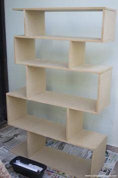VÍDEO: Como fazer estante de livros gastando pouco – #QuartoNovo 4