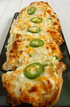 Cheesy jalapeño bread
