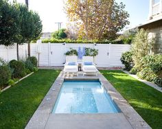 Exciting Idea to Build Above Ground Plunge Pool : Concrete Plunge Pool Design For Traditional Pool Ideas