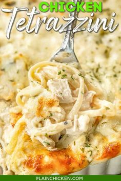 Pasta Dishes, Food Dishes, Main Dishes, Turkey Recipes, Chicken Recipes, Meals With Chicken, Chicken Spaghetti Recipes, Cod Recipes, Recipe Chicken