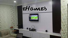 Final look of the media console. All wires hidden.  #social #branding #socialmedia #sales #entrepreneur #entrepreneurship #marketing #branding #tech #business #travel #smallbiz #success #hoteldesign #hotelfurniture #hotelinterior #livingroom #kitchendesigns #allnaija #homedesign #handmade #homeinterior #loungeroom #naija #nigeria by ehomesng