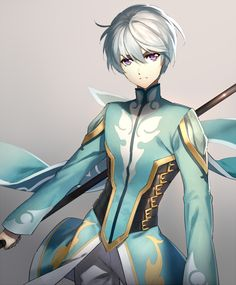 Mikleo (Tales of Zestiria) by  Trickster of Thieves. Source: http://www.zerochan.net/1702556