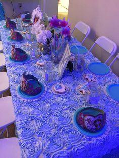 Winter Frozen Tea Party | CatchMyParty.com