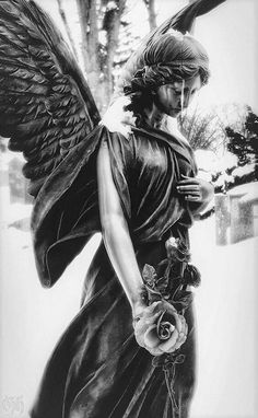 Lawn Cemetery - Park Lawn Cemetery -Park Lawn Cemetery - Park Lawn Cemetery - Free Image on Pixabay - Angel, Statue, Angel Figure, Woman Odin's Grey Hawk Beautiful cemetery angel in Ireland… ⌘ Cemetery Angels, Cemetery Statues, Cemetery Art, Statue Tattoo, Angels Among Us, Angels And Demons, Body Art Tattoos, Sleeve Tattoos, Tattoos Skull