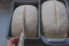 I've been teasing Luc recently with the slash and tears on my loaves, he has a thing for a good tear in a loaf. It's easier to get a tear in a yeast loaf than sourdough when you first start scoring loaves. Under-proved dough will give more of a dramatic [click to continue...]