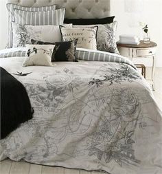 French bedroom styling - LLL have Province coming out next week which is similar to this