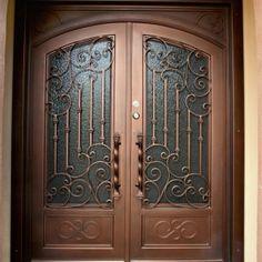 Wooden Door Design, Front Door Design, Gate Design, Wood Entry Doors, Entrance Doors, Wooden Doors, Iron Garden Gates, Steel Security Doors, Display Family Photos