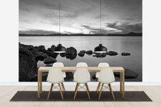 Lake Tahoe - b/w - Tapetit / tapetti - Photowall