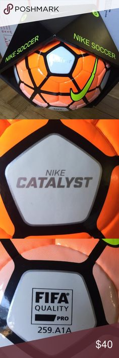Nike Catalyst Official Match Ball FIFA 5 OMB 15/16 Nike Catalyst Official Match Ball FIFA 5 OMB 15/16 PSC473-100 Nike Accessories