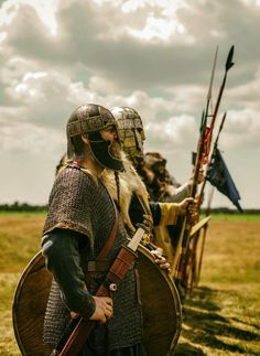 Viking sword and spear in the line Viking Armor, Viking Shield, Viking Sword, Viking Helmet, Vikings Time, Norse Vikings, Sea Serpent, Early Middle Ages, Viking Symbols
