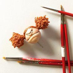 Сказочная миниатюра с характером от Caroline McFarlane-Watts - Ярмарка Мастеров - ручная работа, handmade