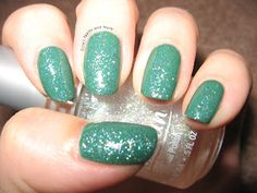 Julep Emilie topped with Jordana Crystal Glitter