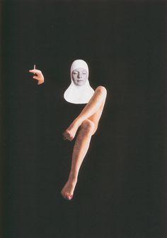 monja by jorge chamorro ortiz Psychedelic Art, Photomontage, Art Du Collage, Collage Artists, Design Art, Graphic Design, Design Patterns, Arte Pop, Art Graphique