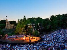 Shakespeare in the park...New York