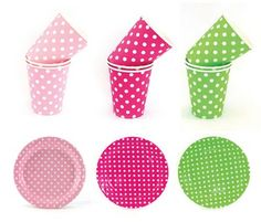 polka dot partyware by sambellina