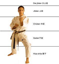 Jōdan/Chūdan/Gedan
