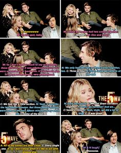 Maika, Nick & Alex on what it's like to work with Chloe