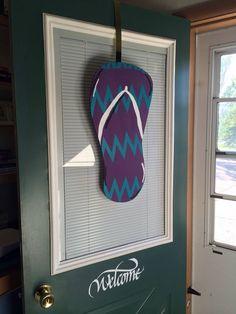flip flop door hanger