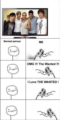 When The Wanted are on TV: @jessie Monroe had an experience with this lol