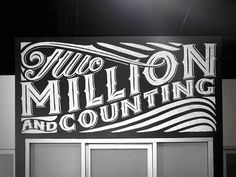 Two Million & Counting by Nathan Yoder