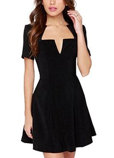 hodooyee Chest Commute Small Charming One Piece Dresses Pretty Dresses 4f67e15b5a75