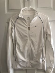 66bff5738d Nike Small White Jacket  fashion  clothing  shoes  accessories   womensclothing  activewear (ebay link)