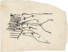 Andy-Warhol-+Two+hands+playn+piano,+primeiros+desenhos,+1954.jpg 460×352 ピクセル