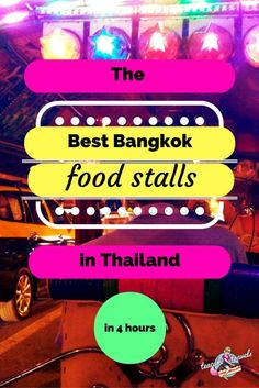 Looking for the best Bangkok food stalls and street eats in Thailand?