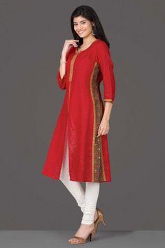 Hand crafted Kurtas by Farida Gupta Pakistani Dresses, Indian Dresses, Indian Outfits, Salwar Designs, Blouse Designs, Pakistan Fashion, India Fashion, Women's Fashion, Salwar Pattern