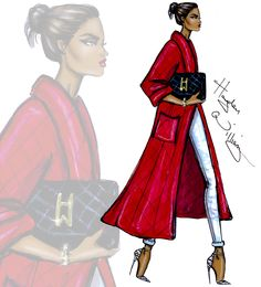 """haydenwilliamsillustrations: """"'Red Blooded Woman' by Hayden Williams """""""