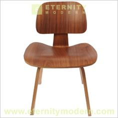 Eames plywood chair. Seems exactly what I need a set of.