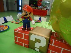 Kelly R's Birthday / Super Mario Bros - Photo Gallery at Catch My Party Super Mario Bros, Mario Bros Cake, Super Mario Birthday, Mario Birthday Party, Super Mario Party, Birthday Ideas, Birthday Parties, Birthday Stuff, 4th Birthday